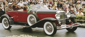A 1931 Model J Duesenberg Disapearing Top Convertable