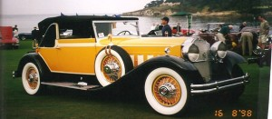 1931 Packard 745 Victoria Convertable